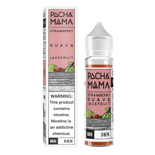 Strawberry Guava Jack Fruit Ejuice by PACHAMAMA 60ml