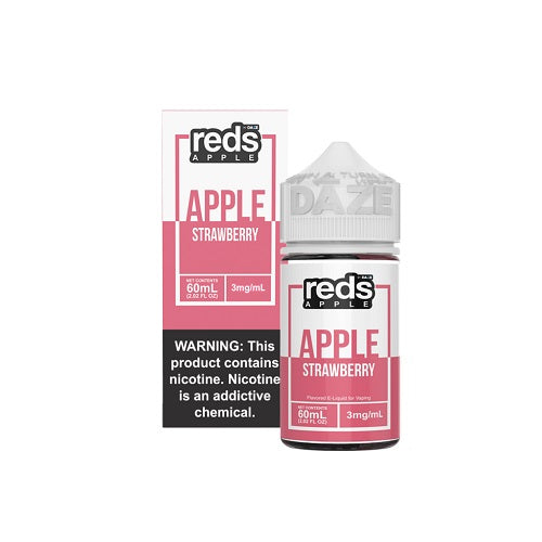 7 Daze Reds Apple Strawberry Vape Juice 60ml