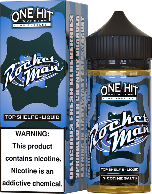 One Hit Wonder Rocket Man Nicotine Salts