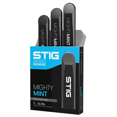 Stig Pods Mighty Mint (Disposable Vape Pods)