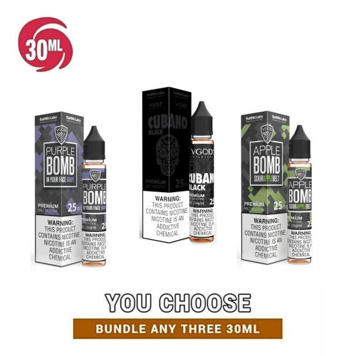 VGOD Salt Nic Collection 30ml Pick 3 Bundle