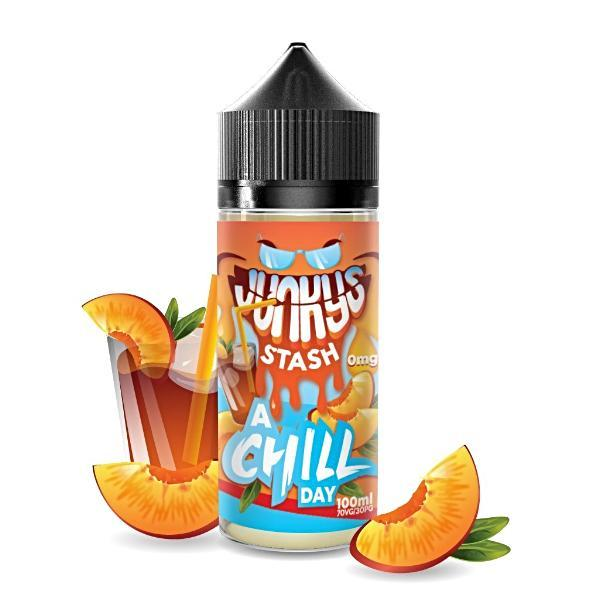 A Chill Day by Junkys Stash Eliquid 100ml Main