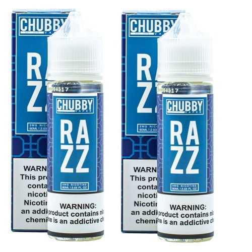 Bubble Razz by Chubby Bubble Vapes 120ml Limited Edition