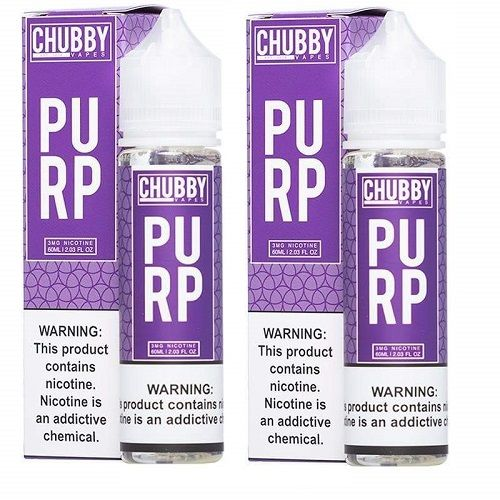 Bubble Purp by Chubby Bubble Vapes 120ml Limited Edition