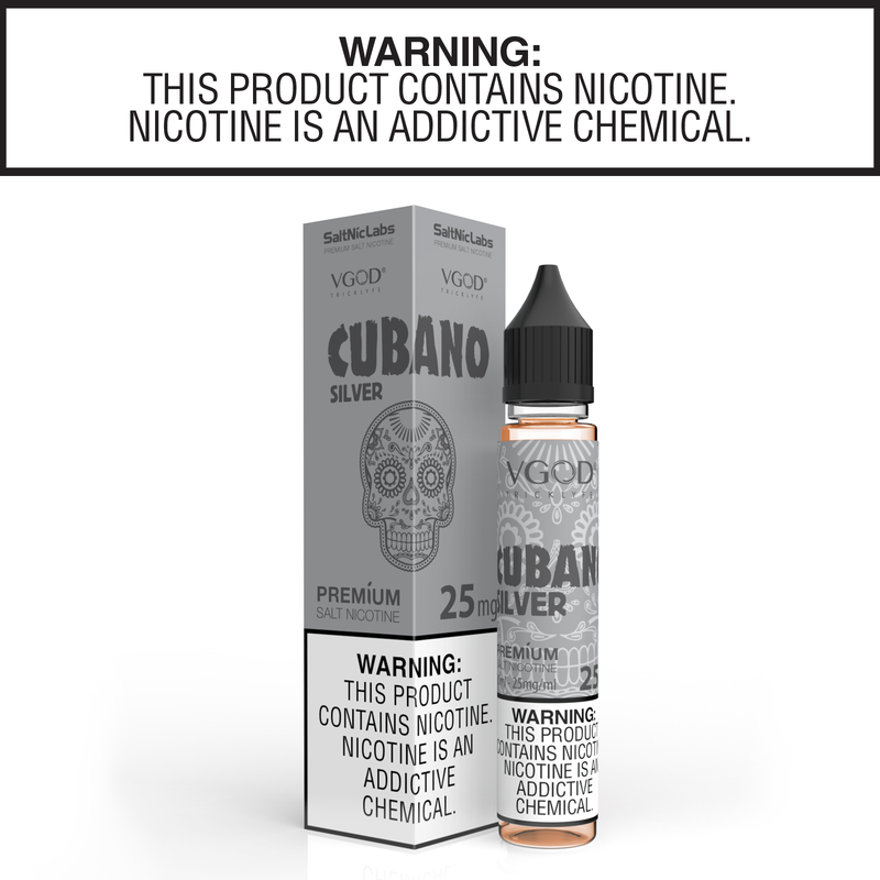 Cubano Silver by VGOD Salt Nic Collection 30ml