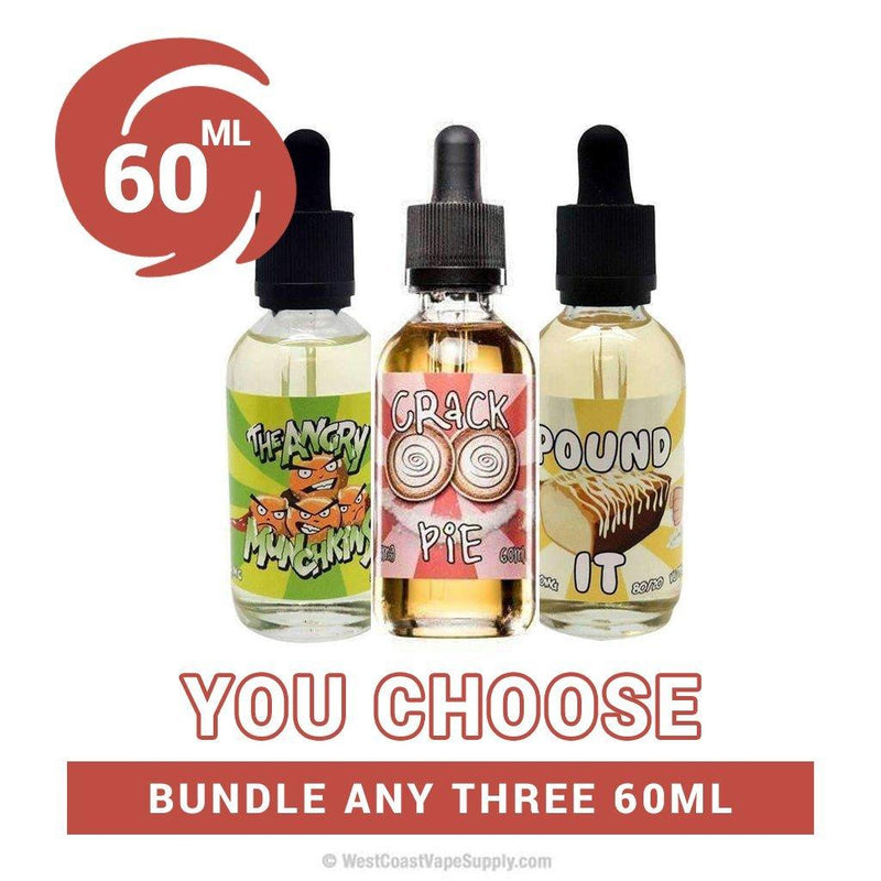 Food Fighter Juice 60ml Pick 3 Salt Nicotine Vape Juice Bundle