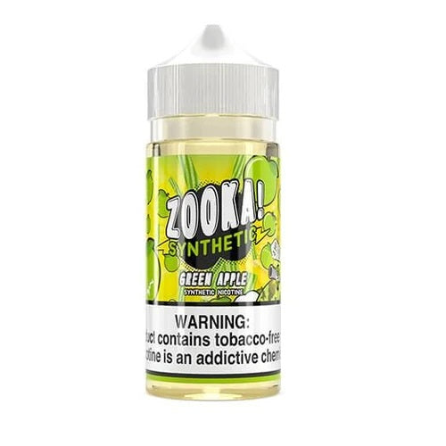 Green Apple TFN Zooka! Synthetic by Sour Straws Kilo 100ml