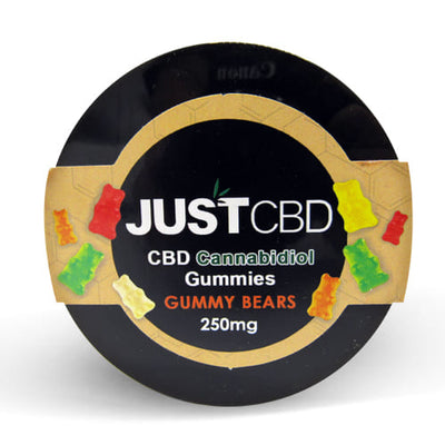 CBD Gummy Bears 250mg by JustCBD