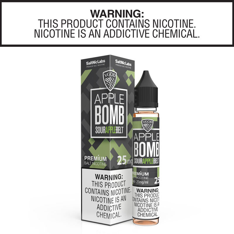 Apple Bomb by VGOD Salt Nic Collection 30ml