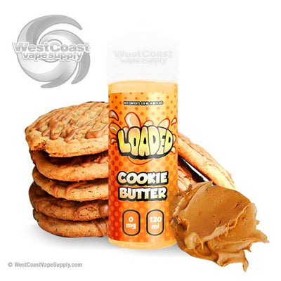 Loaded Cookie Butter by Loaded E-Liquid 120ml