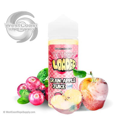 Cran Apple Juice Iced Ejuice by Loaded Eliquid 120ml