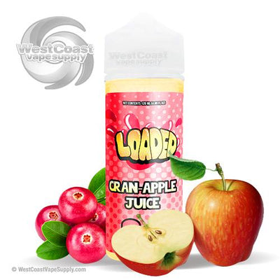 Cran Apple Juice by Loaded Eliquid 120ml