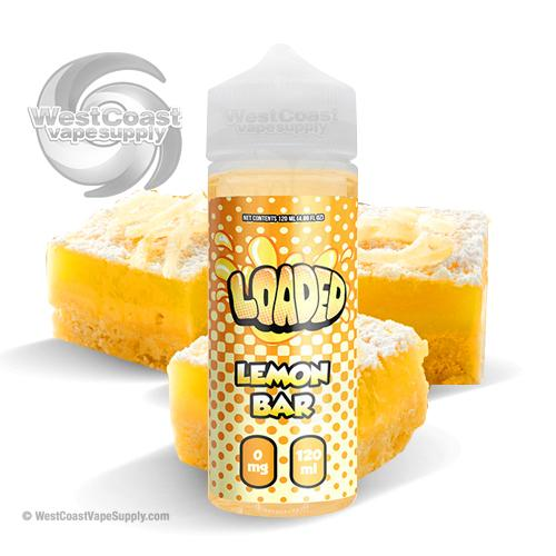 Loaded Lemon Bar by Loaded Eliquid 120ml