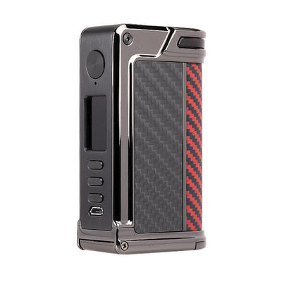 Lost Vape Paranormal Gunmetal Scarlet Passion Red Black Kevlar