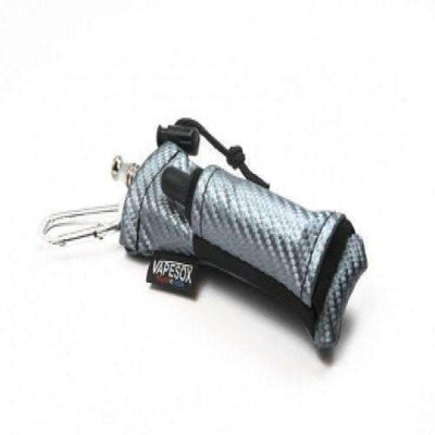 VS5 Silver Dark Carbon Fiber Mod Holder by Vapesox