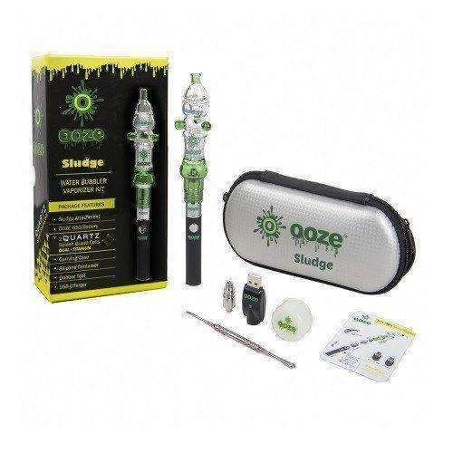 Ooze Sludge Water Bubbler Vaporizer Kit