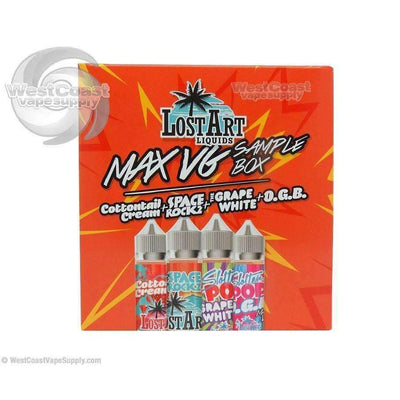 Lost Art Max VG Sample Pack Box