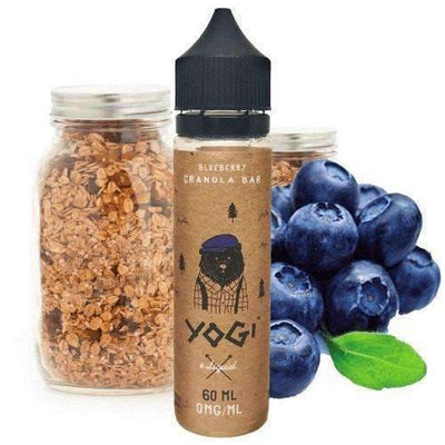 Blueberry Granola Ejuice by Yogi Eliquid 60ml