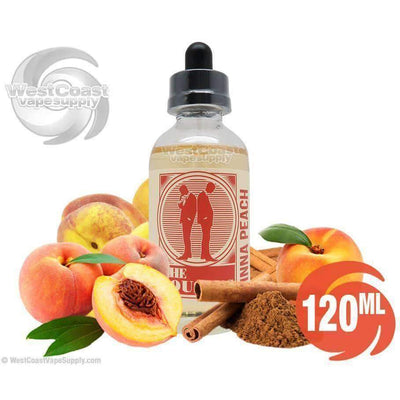 Cinna Peach Ejuice by The Cousins Eliquid 120ml