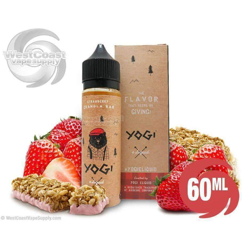 Strawberry Granola Bar Ejuice by Yogi Eliquid 60ml