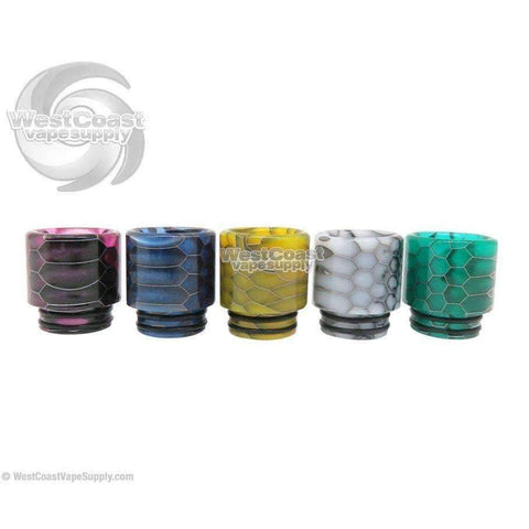 Stumpy Snake Skin Wide Bore Drip Tip by Glossy Flavors