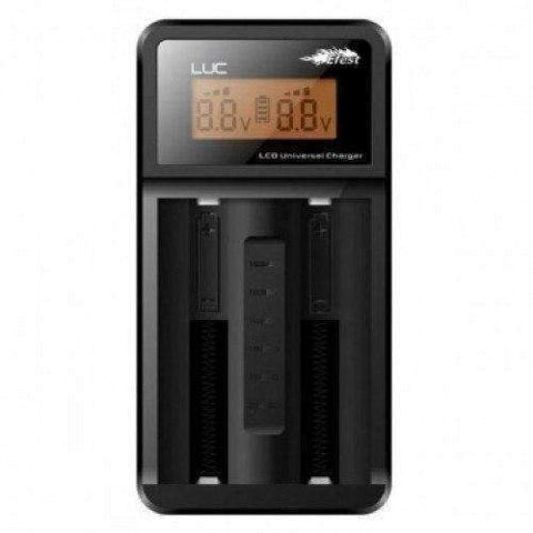 LUC LCD 2 Bay Smart Battery Charger by Efest