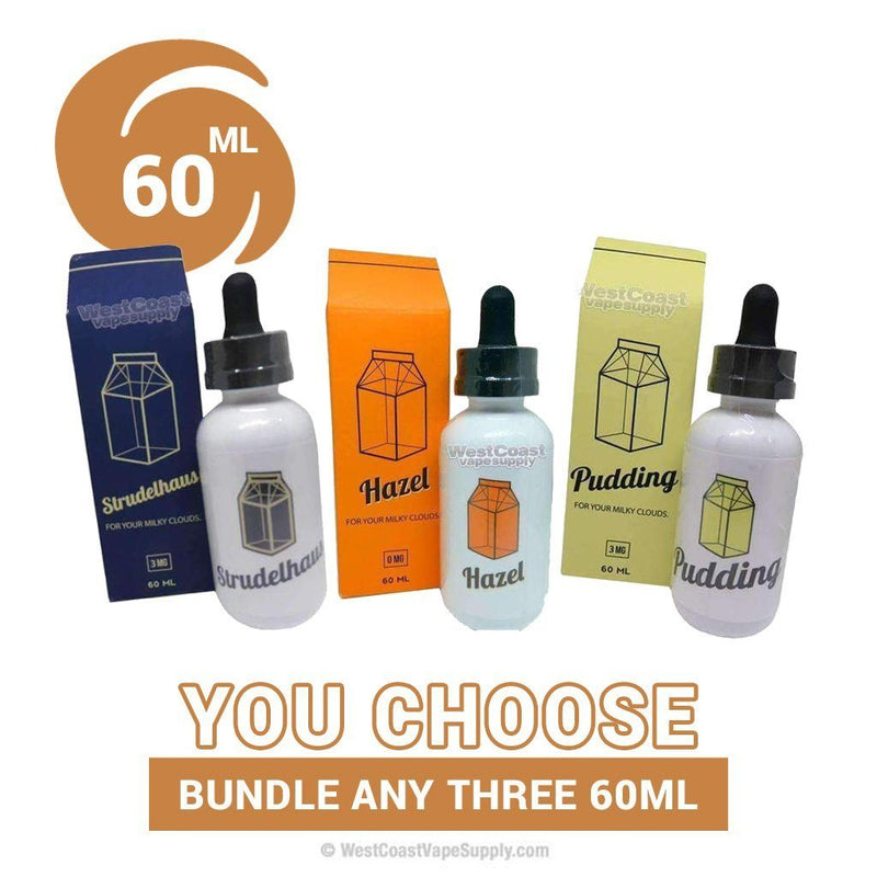 The Milkman 60ml Pick 3 Bundle
