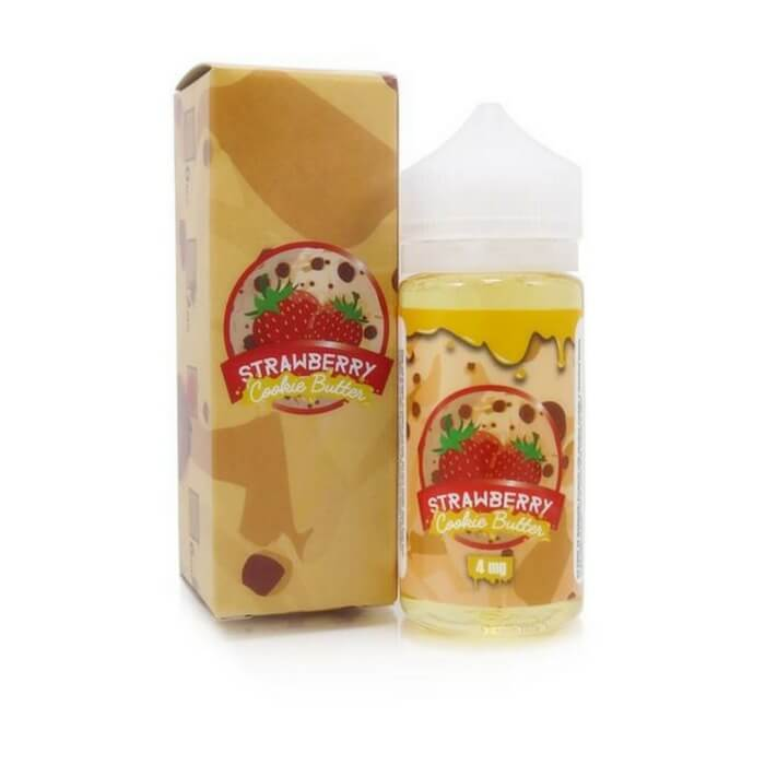 Vaper Treats Strawberry Cookie Butter