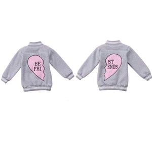 Best Friend Jersey Jackets -Twin your best friend - nixonscloset