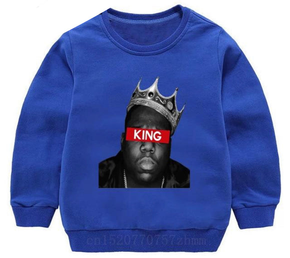 Biggie Crewneck- King blue - nixonscloset
