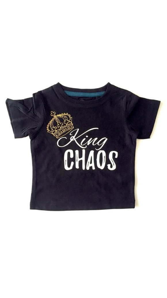 King chaos tee black - NC The Label - nixonscloset