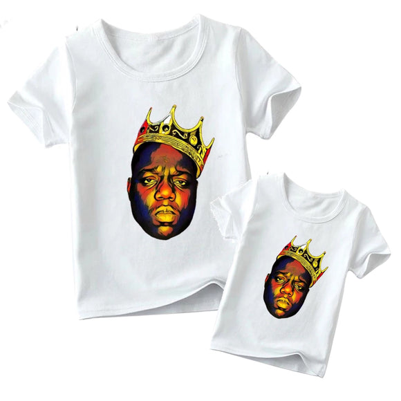 Matching Famiy Biggie Smalls Crown Tee - Adult & Child - nixonscloset