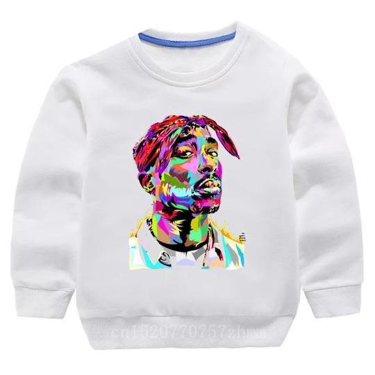 Tupac Sweater -White Watercolour - nixonscloset