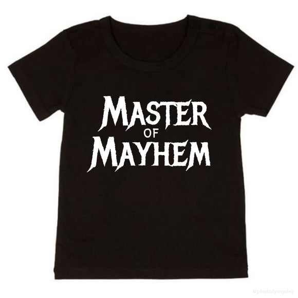 Master of mayhem tee - NC X The Label