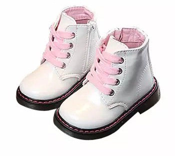 White Marshmallow Candy pop boots