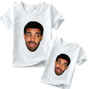 Matching Family Drake Hey Tee- Adult & Children - nixonscloset