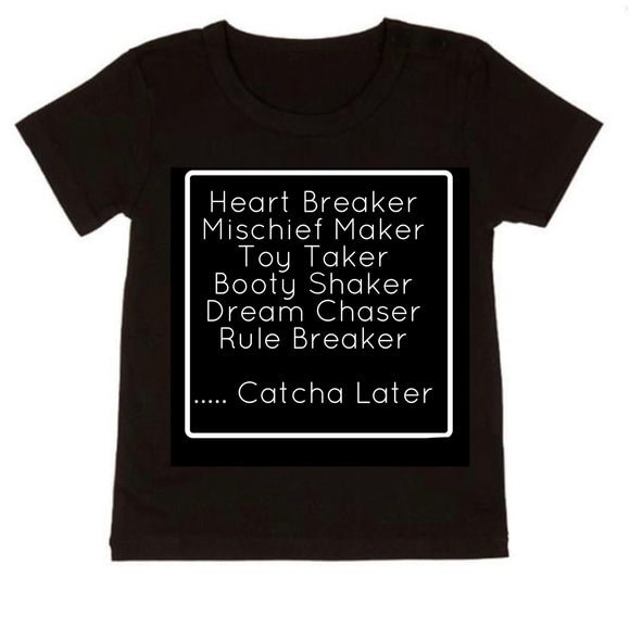 Catcha later tee - NC X The Label - nixonscloset