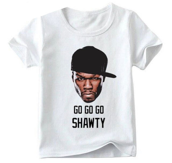 Matching Family 50 cent Go Shawty Tee - Adult or Child - nixonscloset