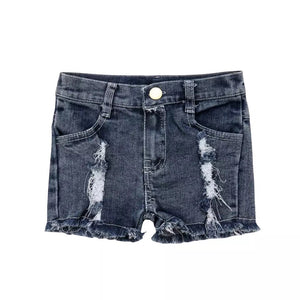Distressed Denim Short - nixonscloset