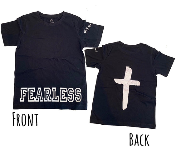 Fearless cross short sleeve tee  - NC X The Label - nixonscloset