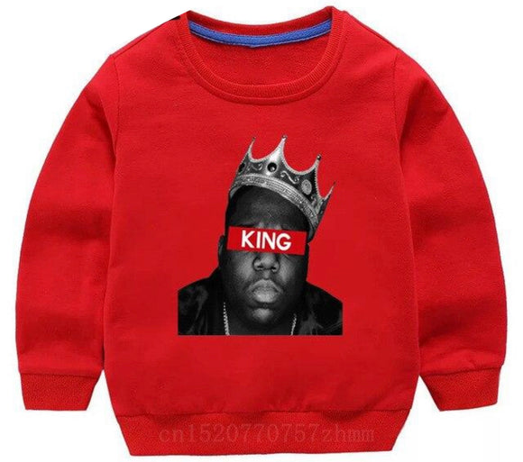 Biggie Crewneck - King red
