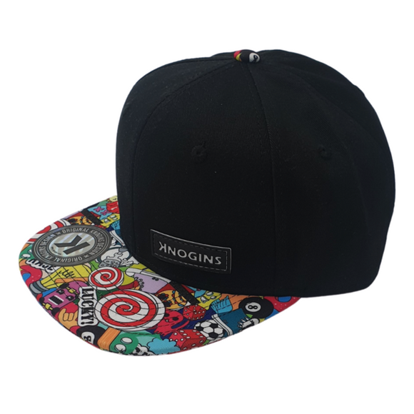 Lucky 8 SnapBack Hat - Knogins the brand