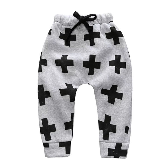 Cross harem pant - Grey