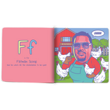 Raised on Hip Hop Alphabet learning book- The Little Homie