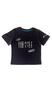 Stay Humble Hustle Hard tee- NC The Label - nixonscloset