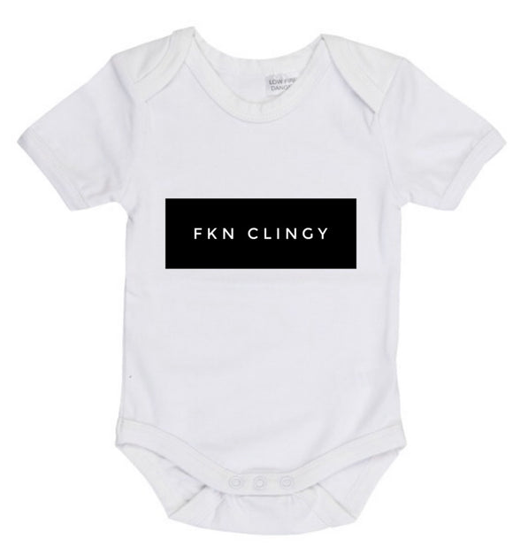 FKN Clingy bodysuit- white or black  | MLW by Design