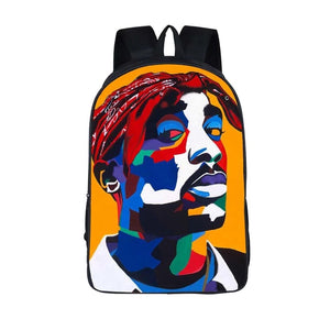 Tupac backpack - nixonscloset