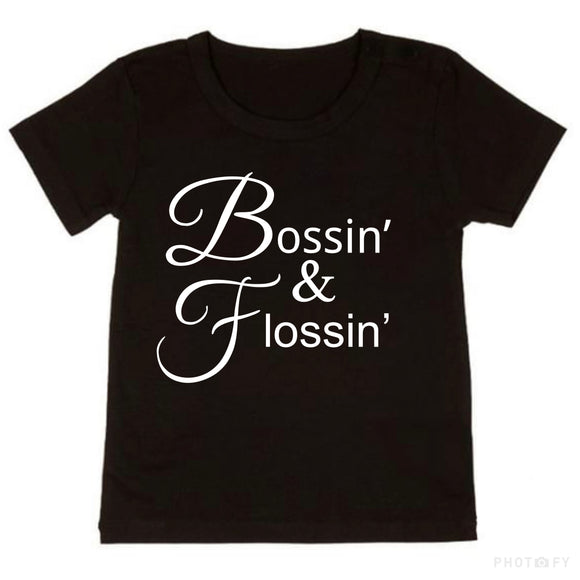 Bossin' & Flossin Tee - NC X The Label - nixonscloset