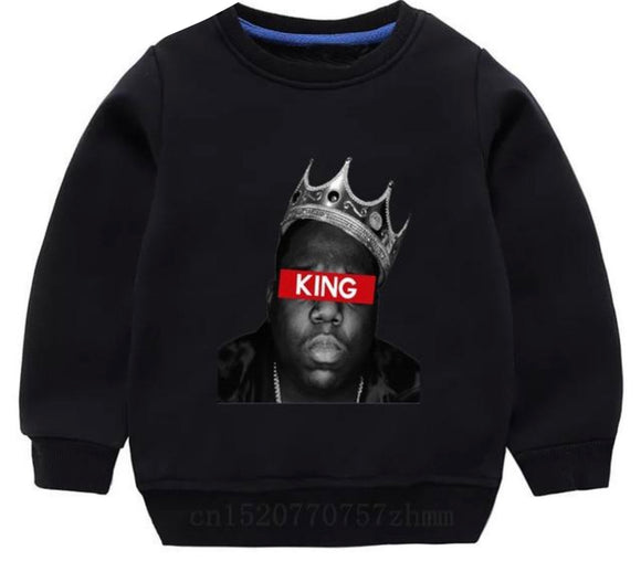 Biggie Crewneck -King black