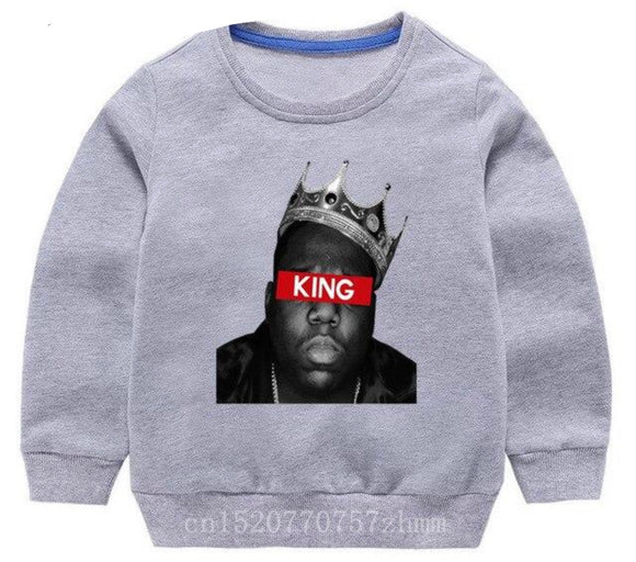Biggie Crewneck - King grey